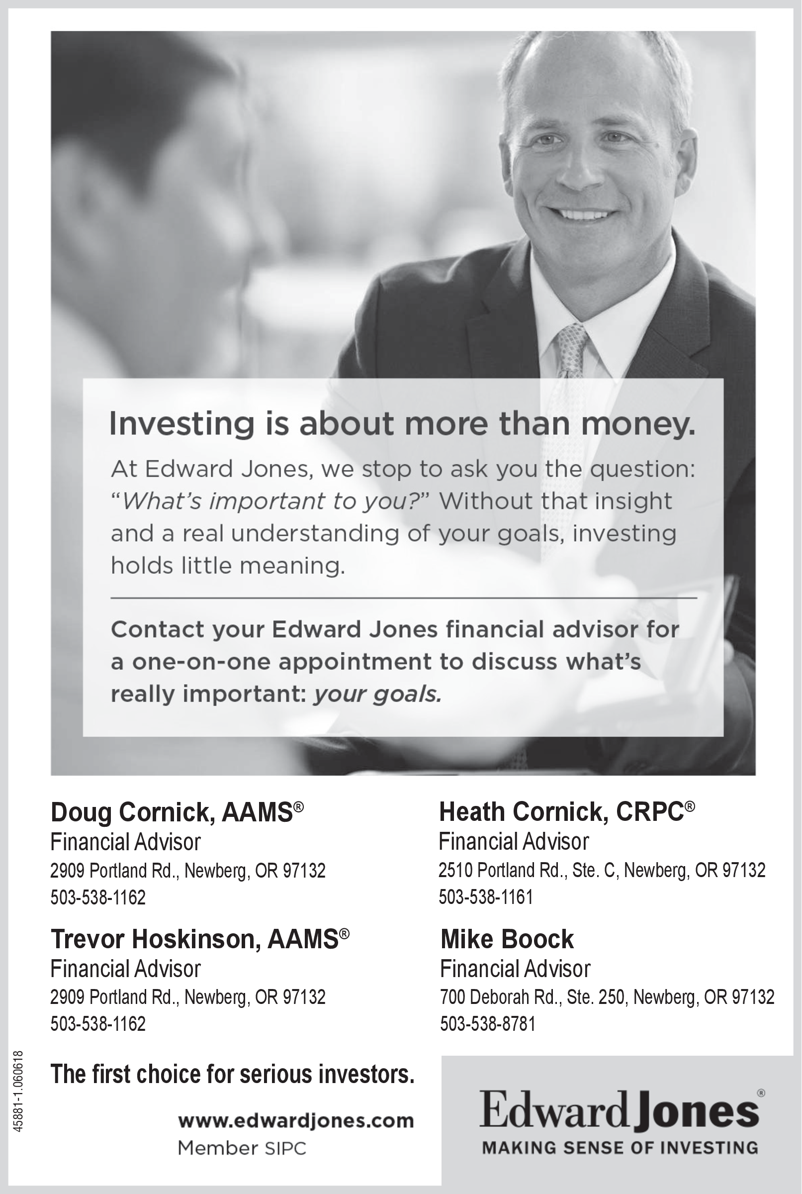 Best Financial Advisors in Newberg, OR, Financial Services